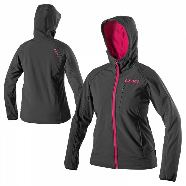 SOFTSHELL JACKE HOODED WOMEN